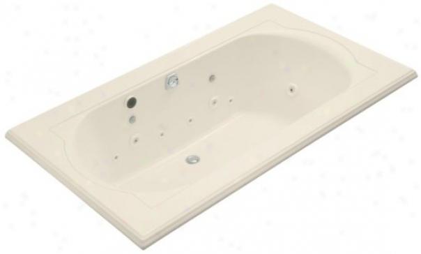 Kohler K-1418-ct-47 Memoirx 6' Whirlpool With Relax Experience, Almond