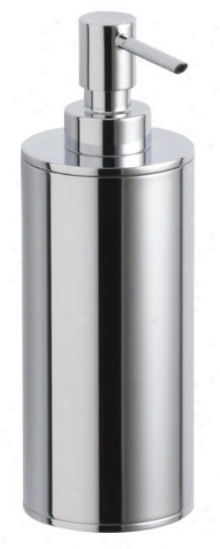 Kohler K-14379-bv Purist Countertop Soap Dispenser, Vibrant Brushed Bronze