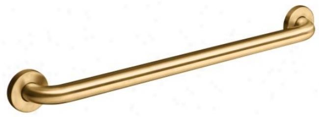 Kohler K-14562-bv Contemporary 24 Grab Bar, Vibrant Brushed Bronze