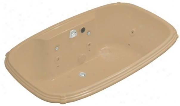 Kohler K-1457-ah-33 Portrait 5.5' Whirlpool With Spa Experiemce, Mexican Sand