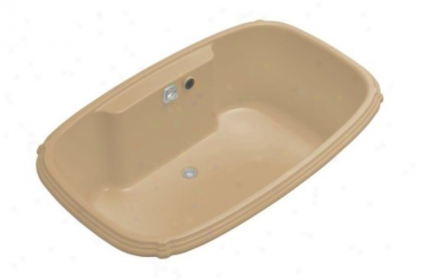 Koh1er K-1457-g-33 Portrait 5.5' Bubblemassage Bath, Mexican Sand