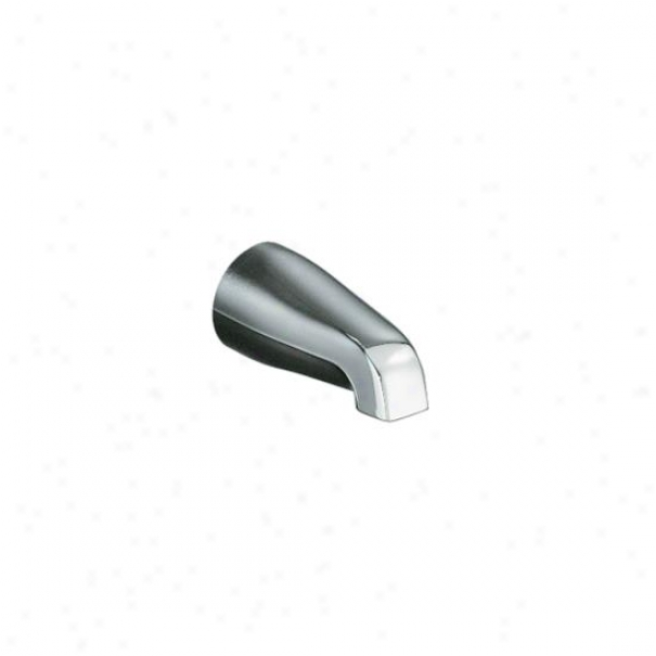 Kohler K-15135-s-g Coralais Non-diverter Bath Spout With Slip-fit Connection, Brushed Chrome