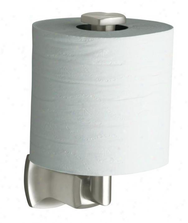 Kohler K-16255-sn Margaux Vertocal Toilet Tissue Owner, Vibrant Polished Nickel