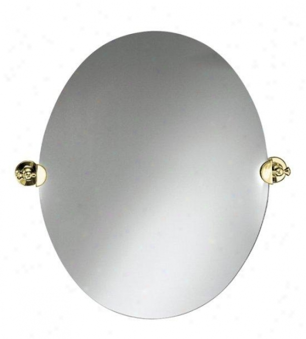 Kohler K-217-pb Antique Mirror, Vibrant Polished Brass