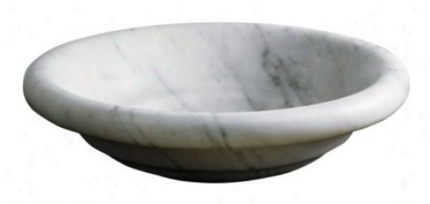 Kohler K-2333-wh Bottivelli Vessels Countertop Lavtaory, White Carrara Marble