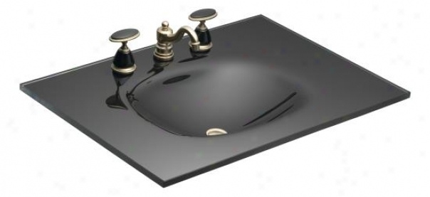 Kohler K-2372-1-y1 Nature's Chemistry: Runway 31 X 22 One-piece Surface And Integrated Glass Lavtz