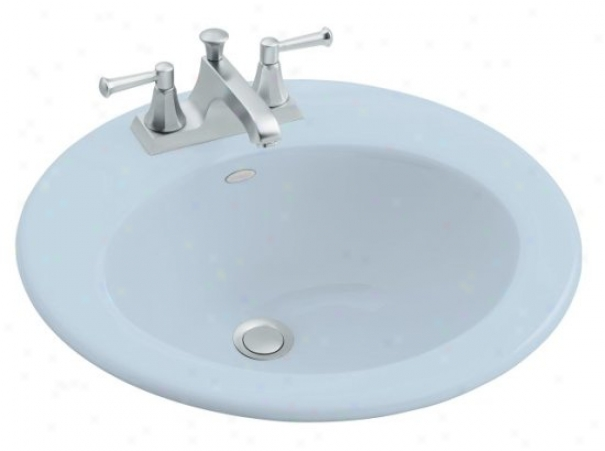 Kohler K-2917-8-6 Radint Self-rimming Lavatory With 8 Centers, Skylitht