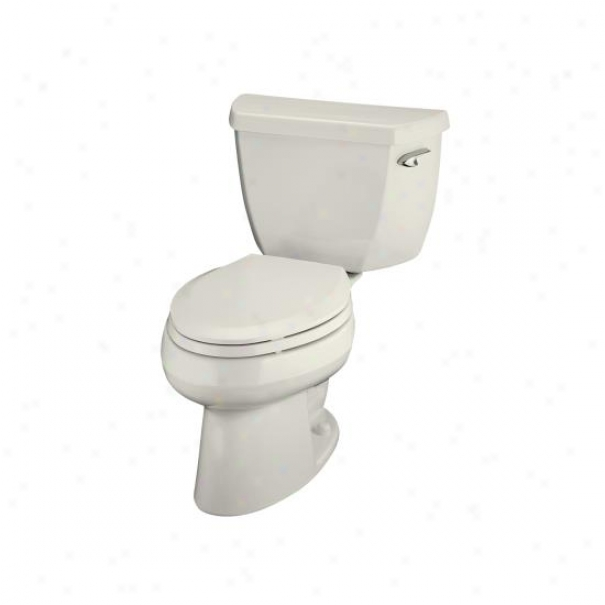 Kohler K-3438-ra-96 Wellworth Classic Elongated Toile5 With 14 Rough-in And Right-hand Trip Lever,