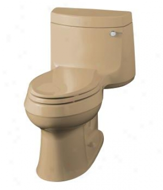 Kohler K-3489-ra-33 Cimarron Comfort Height Elongated Toilet With Cachet Quiet-close Quick-release T