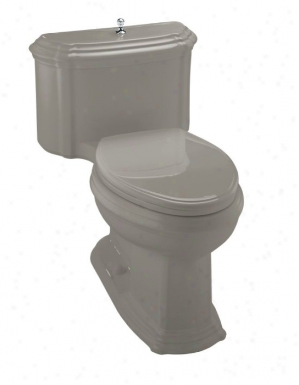 Kohler K-3506-k4 Portrait Comfort Height Elongated Toilet With Lift Knob And Glenbury Quiet-close To