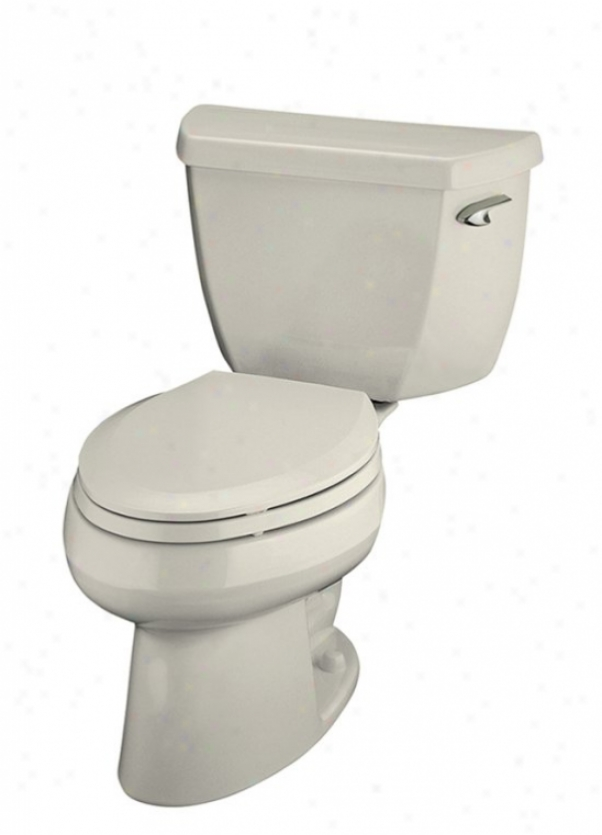 Kohker K-3531-ra-96 Wellworth Pressure Lite Elongated 1.0 Gp f Toilet With Right-hand Trip Lever, Les