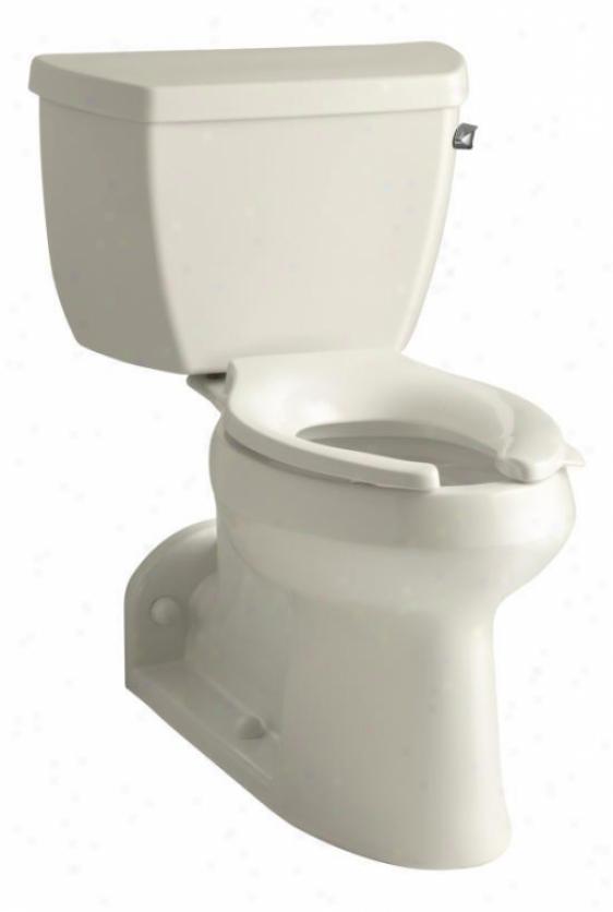 Kohlet K-3578-ra-47 Barrington Pressure Flower Comfort Height Toilet With Right-hand Trip Lever, Almon
