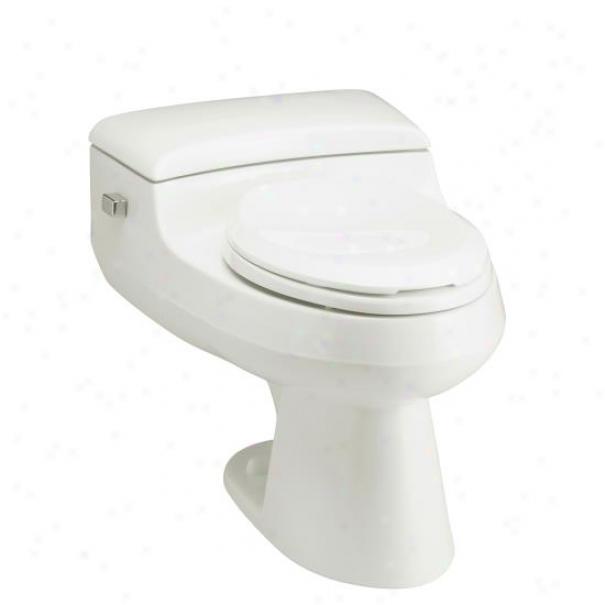 Kohler K-3597-58 San Raphael Comfort Height Preswure Lite 1.0 Gpf Elongated Toilet, Thunder Grey