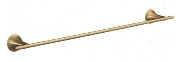 Kohler K-360-bv Finial Traditional 24 Towel Bar, Vibrant Brushed Bronze