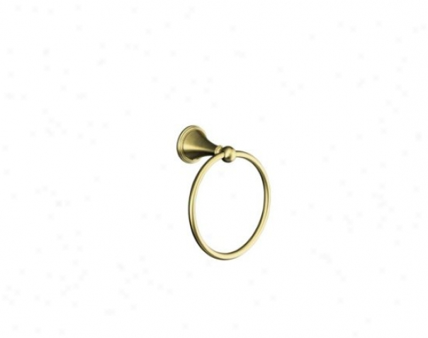 Kohler K-363-bv Finial Traditional Towel Ring, Vibrant Brushed Brown