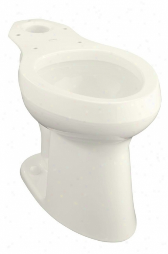 Kohler K-4304-l-33 Highline Affliction Flower Toilet Bowl Only With Bedpan Lugs, Mexican Sand