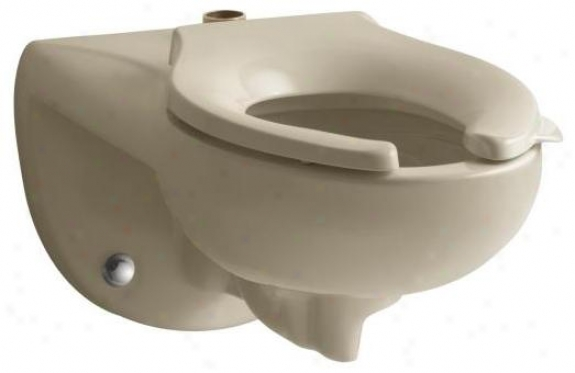 Kohler K-4325-33 Kingston Toilet Bowl With Top Spud, Less Seat, Mexican Sand