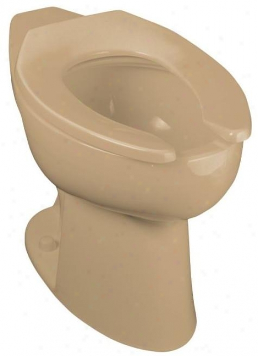 Kohler K-4367-33 Highcliff Elongated Toilet Bpwl With Rear Spud, Mexican Sand