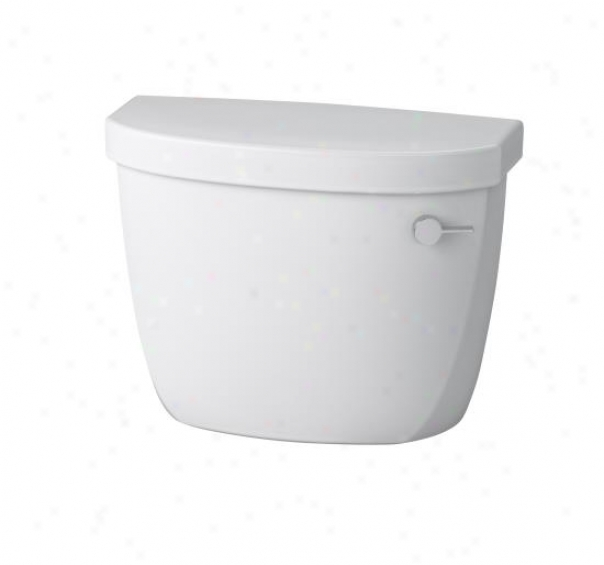 Kohler K-4418-tr-hw1 Cimarron 1.6 Gpf Scientific division  Six Toilet Tank Only With Right-hand Trip Lever And Lock