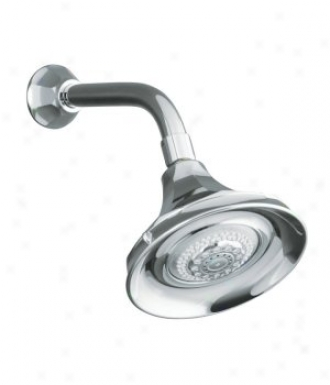 Kohler K-444-bv Memoirs Multifunction Showerhead, Vibrant Brushed Bronze