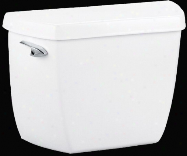 Kohler K-4484-ra-4 Highline Classic 1.0 Gpf Toilet Tank Only With Right-hand Trip Leer, Almond