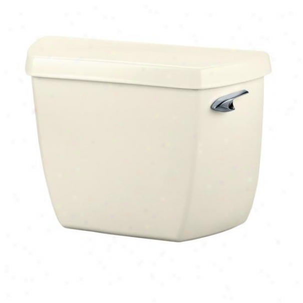 Kohler K-4484-ra-96 Highline 1.0 Gpf Toilet Tank Wth Right-hand Trip Lever, Biscuit
