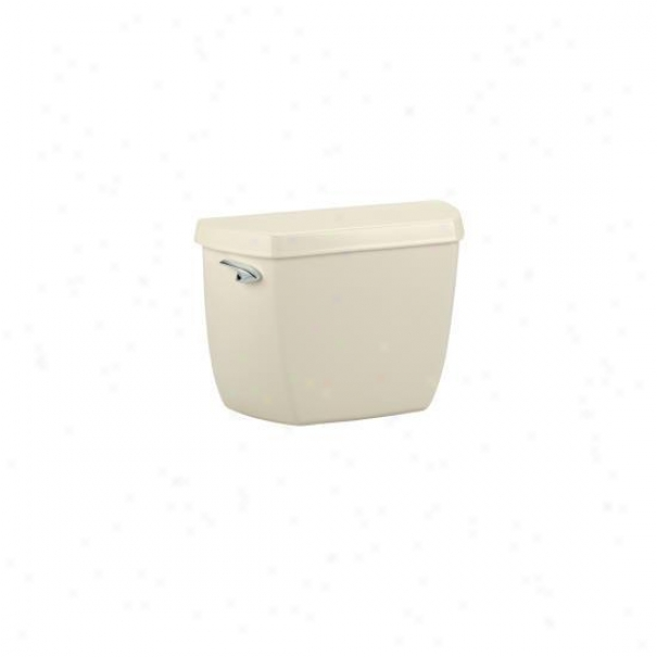 Kohlrr K-4484-t-47 Highline 1.0 Gpf Toilet Tsnk With Tank Cover Locks And Left-hand Trip Lever, Almo