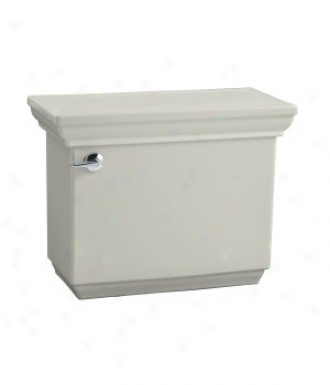 Kohler K-4492-95 Memoirs Toilet Tank With Pompous Design, Ice Grey