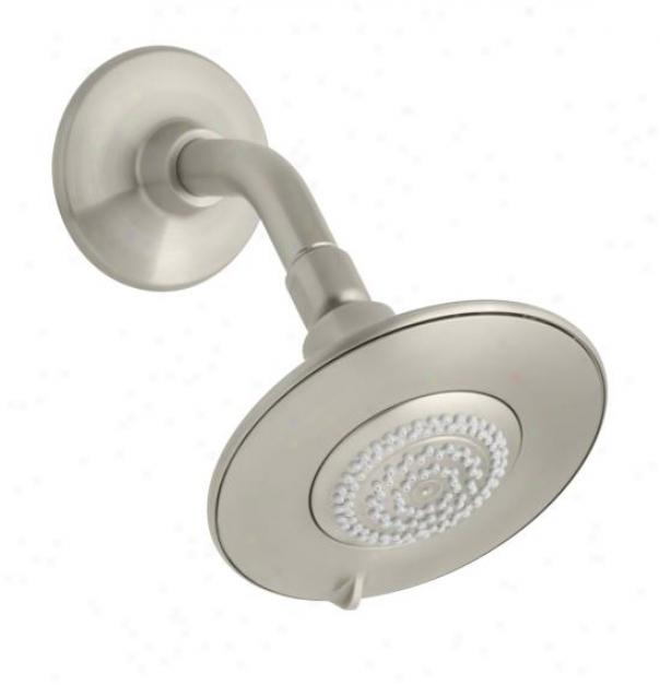 Kohler K-45125-bn Alteo Multifunction Showerhead, Vibrating Brushed Nickel