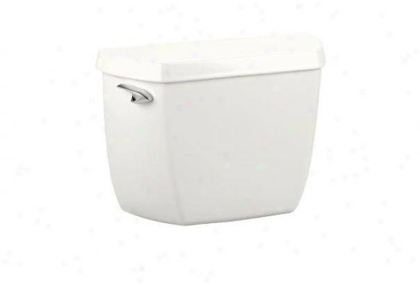 Kohler K-4621-t-0 Wellworth Classic Toilet Tank With Cistern Locks, White