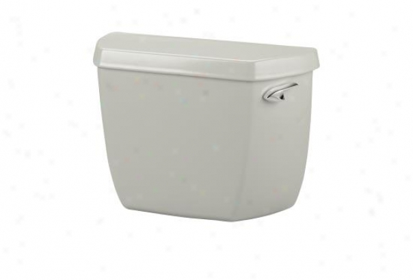 Kohler K-4621-tr-95 Wellworth Classic Toilet Tank With Tank Locks And Right-hand Trip Lever, Ice Gre