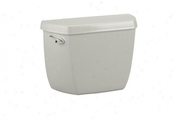 Kohler K-4621-u-95 Wellworth Classic Toilet Tank With Insuliner Tank Liner, Ice Grey
