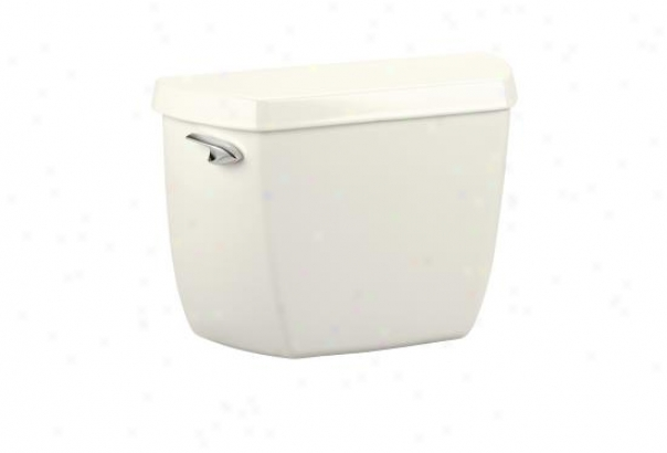 Kohler K-4621-ut-96 Wellworth Classic Toilet Tank With Insuliner Tank Liner And Tank Locks, Biscuit