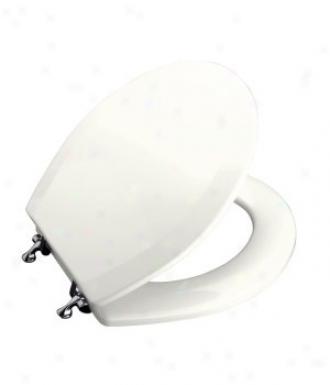 Kohler K 4726 T 0 Triko Round Front Toilet Seat With Cover