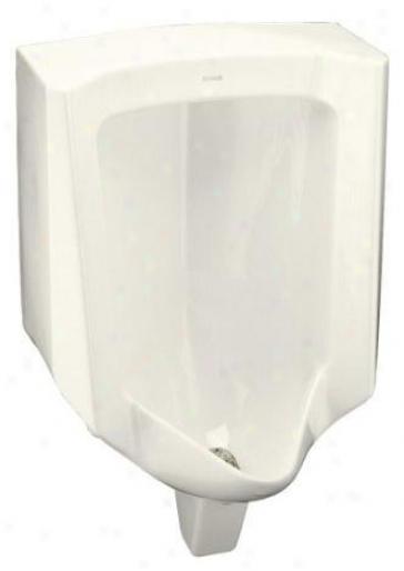 Kohler K-4960-er-96 Bardon Urinal With Rear Spud, Biscuit