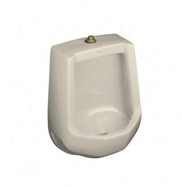 Kohler K-4989-t-47 Freshman Urinal With Top Spud, Almond
