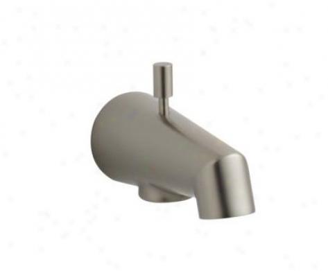 Kohler K-6856-bn 4-7/8 Diverter Bath Spout, Vibrant Brushed Nickel