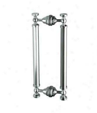 Kohler K-705768-nx Pinstripe 14 Pivot Handle, Brushed Nickel