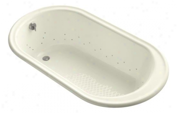 Kohler K-712-gbn-fd Iron Works Bubblemassage 5.5' Bath With Vibrant Brushed Nickel Airjet Color, Can