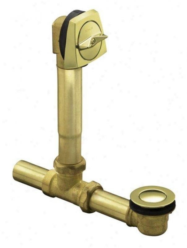 Kohler K-7160-af-af Clearflo 1-1/2 Adjustable Pop-up Drain With Above- Or Through-the-floor Install