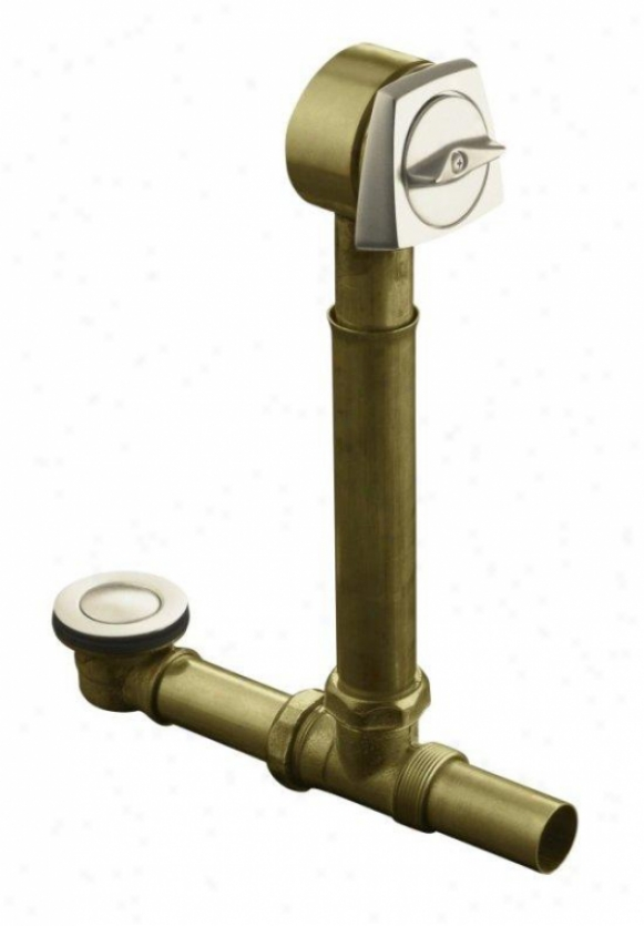 Kohler K-7193-bv Empty For Sok Overflowing Bath, Vibrant Brushed Bronze