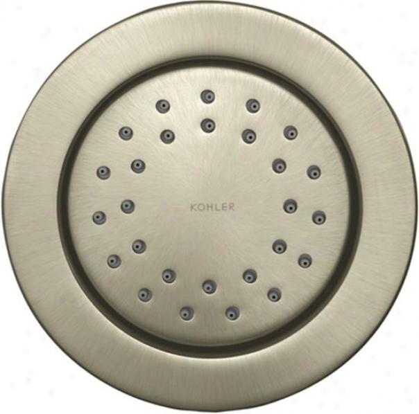 Kohler K-8013-bn Watertile Round 27-nozzle Bodyspray, Vibrant Brushed Nuckel