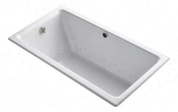 Kohler K-809-gsn-0 Kathryn 5.5' Bubblemassage Baths Wtih Vibrant Polished Nickel Airket Color Finish
