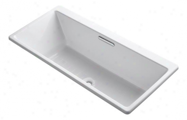 Kohler K-817-fe Reve 5.5' Drop-in/undermount Bath, Cold manner