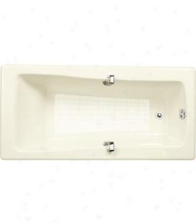 Kohler K-839-0 Maestro 5.5' Bath With Grip Rail Drillings, White