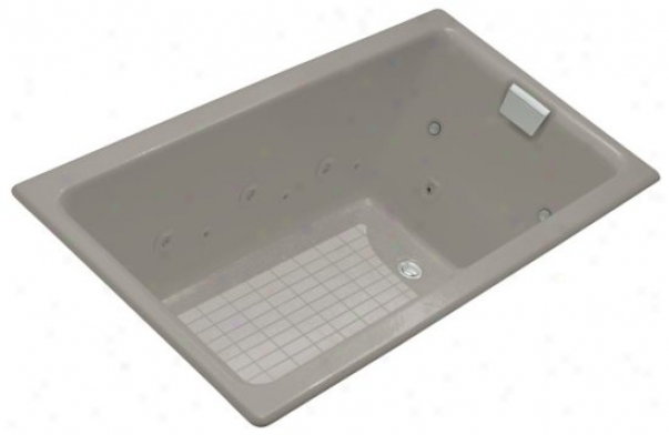 Kohler K-856-ah-k4 Tea-for-two 5.5' Whirlpool With Spa Experience, Cashmere