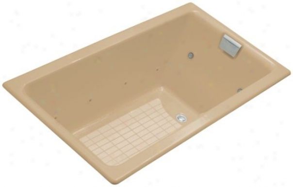 Kohler K-856-ct-33 Tea-for-two 5.5' Whirlpool With Relax Experience, Mexican Sand