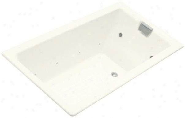 Kohler K-856-ct-96 Tea-for-two 5.5' Whirlpool With Relax Experience, Biscuit