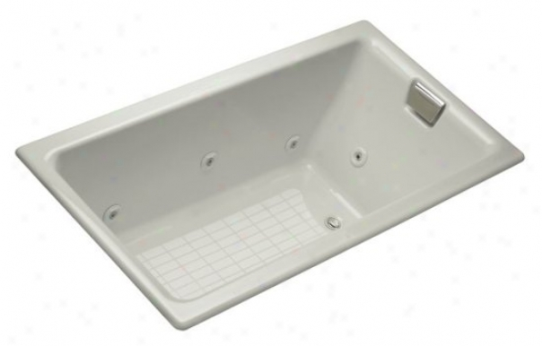 Kohler K-856-hn-95 Tea-for-two 5.5' Whirlpool With Custom Cross-examine Location, Ice Grey