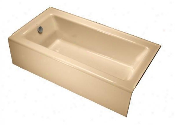 Kohler K-875-33 Bellwether Bath With Integral Apron And Left-hand Drain, Mexican Sand